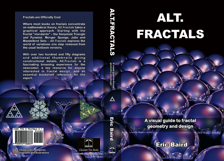 'Alt.Fractals' cover art